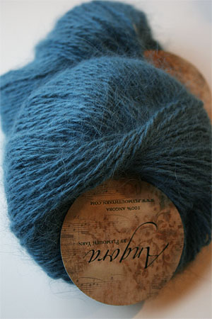 Plymouth Yarn Angora Knitting Yarn in Teal