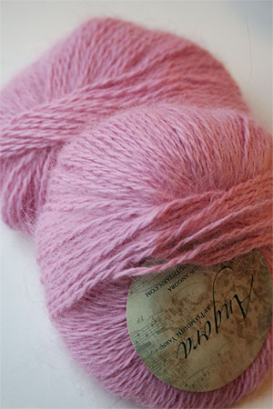 Plymouth Yarn Angora Knitting Yarn in Bubblegum Pink