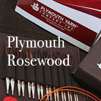 Plymouth Rosewood Needle Interchangeable Needle Set