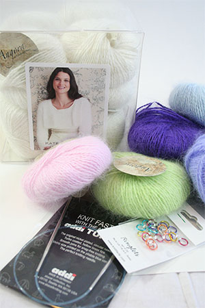 Kate Middleton Angora Cardigan Gift Kit