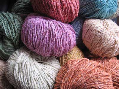 Plymouth Yarns Shire Silk Knitting Yarn