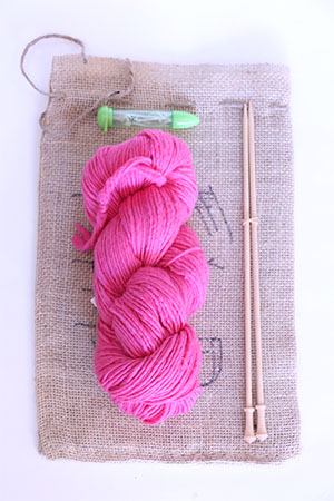 Pink Pussy Hat project kits from fabulousyarn