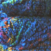 Wool Boucle Yarn Blue