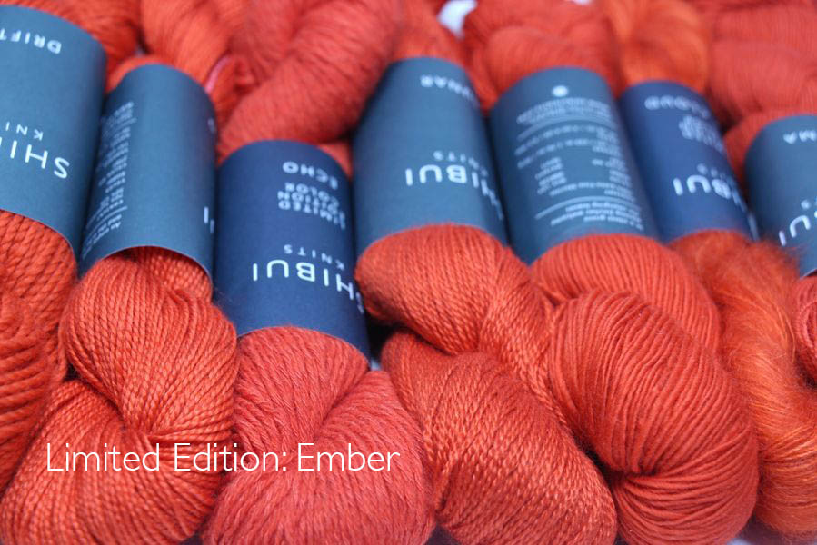 Shibui limited edition Ember color