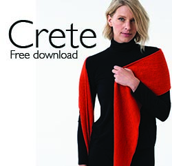 Shibui CRETE - Free pattern with purchase!