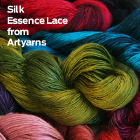 silk essence lace from artyarns