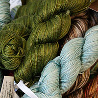 silk plie yarn from tilli tomas