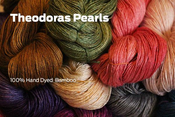 Theodoras Pearls Bamboo Yarn