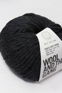 Wool and the Gang Super Bulky Charcoal Grey