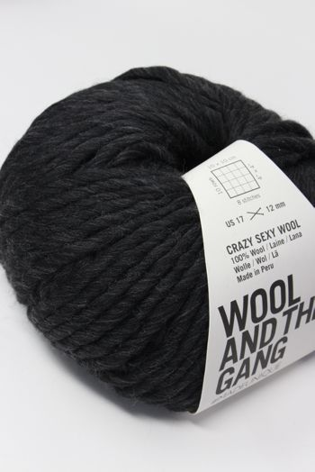 Wool & The Gang Crazy Sexy Wool in Charcoal Grey