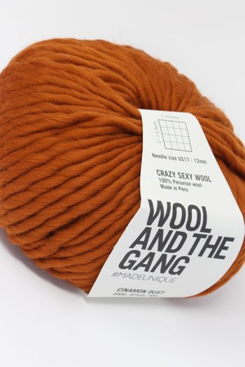Wool & The Gang Crazy Sexy Wool in Cinnamon Dust