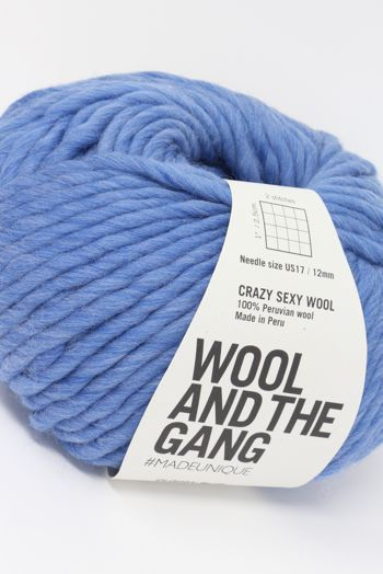 Wool & The Gang Crazy Sexy Wool in Cloudy Blue