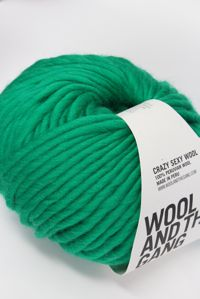 Wool and the Gang Super Bulky Emerald Green