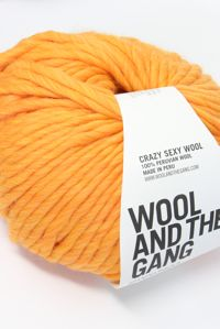 Wool and the Gang Super Bulky Fire Ball Orange