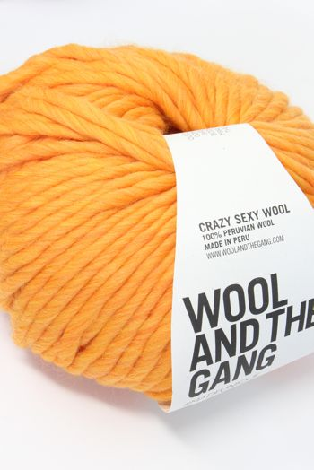 Wool & The Gang Crazy Sexy Wool in Fireball Orange