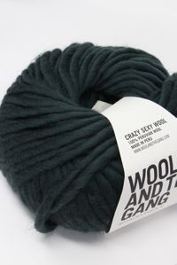 Wool and the Gang Super Bulky Forest Green