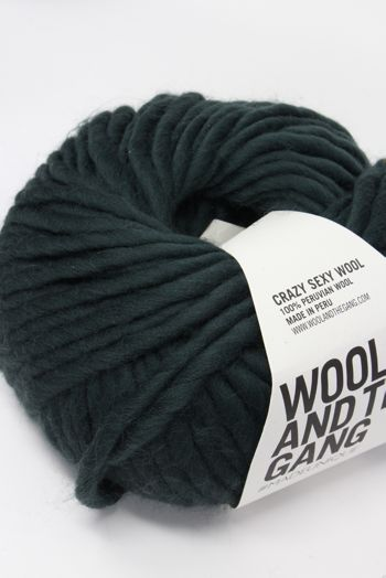 Wool & The Gang Crazy Sexy Wool in Forest Green