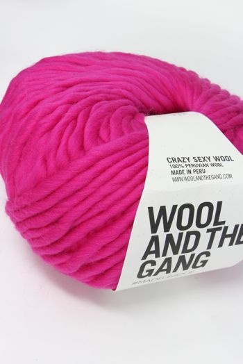 Wool & The Gang Crazy Sexy Wool in Hot Punk Pink