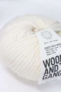 Wool and the Gang Super Bulky 	Ivory White