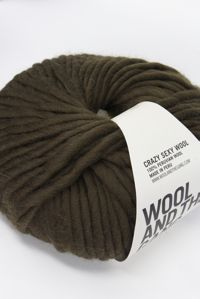 Wool and the Gang Super Bulky Khaki Green