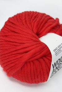 Wool and the Gang Super Bulky Lipstick Red