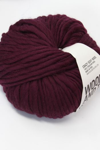 Wool & The Gang Crazy Sexy Wool in Margeaux Red