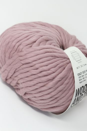 Wool & The Gang Crazy Sexy Wool in Mellow Mauve