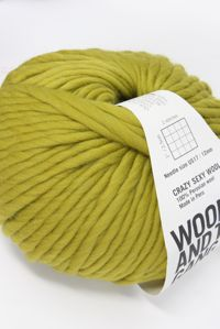 Wool and the Gang Super Bulky Moss Green