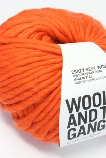 Wool & The Gang Crazy Sexy Wool in Rusty Orange