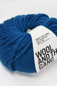 Wool and the Gang Super Bulky 	Sherpa Blue