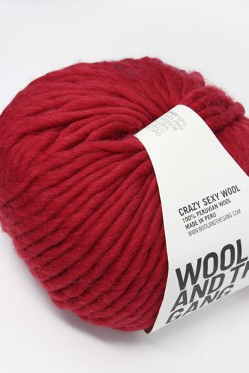 Wool & The Gang Crazy Sexy Wool in True Blood Red