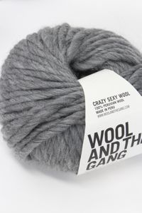 Wool and the Gang Super Bulky 	Tweed Grey