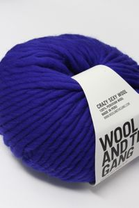 Wool and the Gang Super Bulky 	Ultra Violet