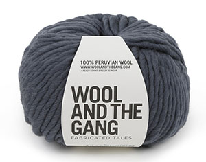 Wool & The Gang Crazy Sexy Wool in Eagle Grey