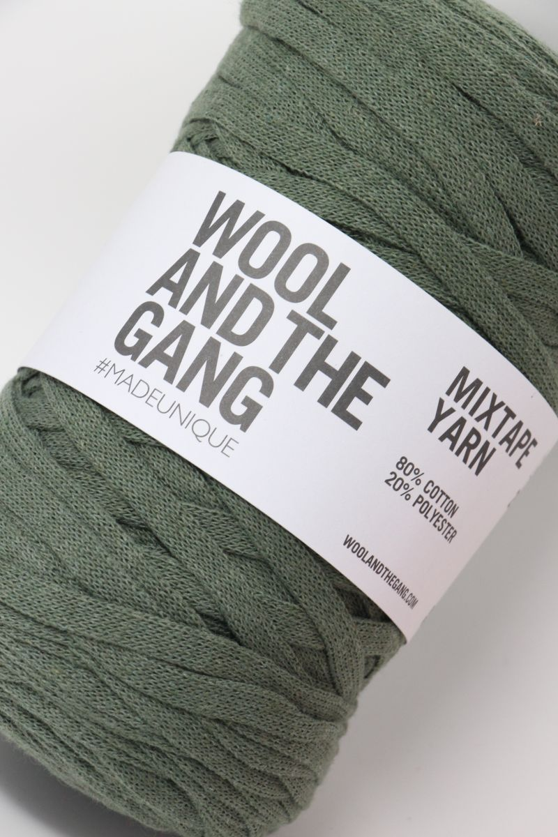 Wool and The Gang Yarn Crazy Sexy Wool | Army Green
