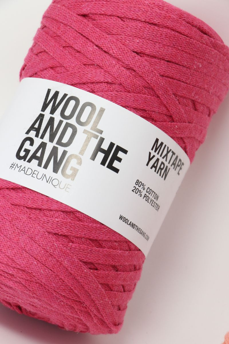 Wool and the gang yarn crazy sexy wool dolly pink - Gang and the wool ...