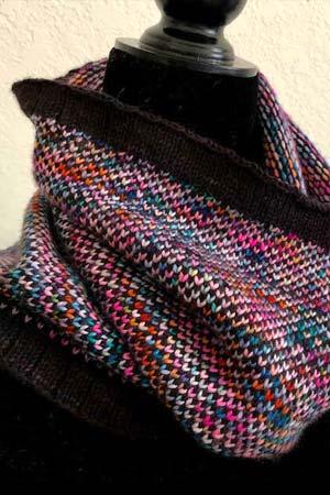Yarn Snob 100 Colors Cowl Kit at Fabulous Yarn
