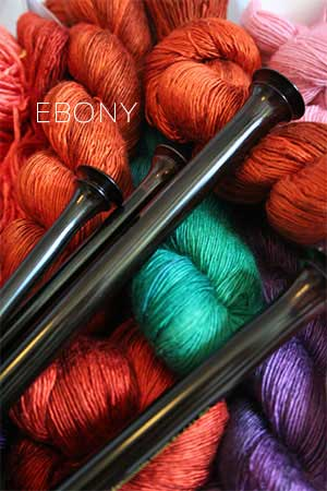 Zen Round Singlepoint Ebony Needles