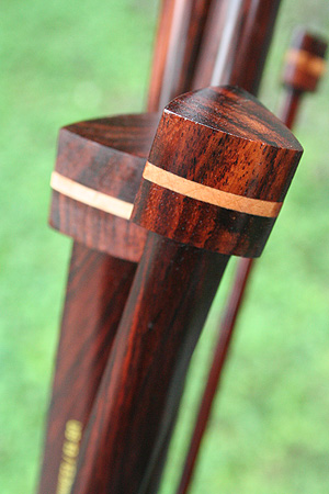 Zen Triangular Needles in Rosewood