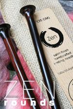 Zen Jumbo Single Point Knitting Needles
