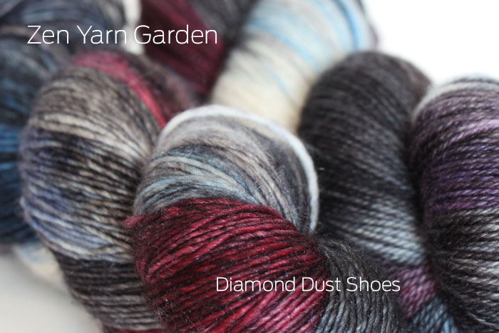 Zen Yarn Garden - Artwalk Series - Diamond Dust Shoes!