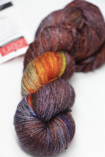 Zen Yarn Garden Superfine Glitter in Sienna