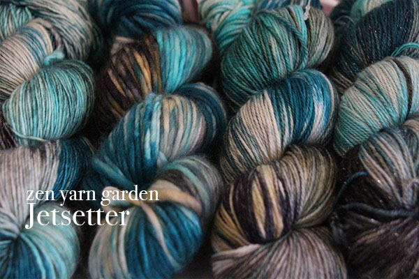 Zen Yarn Garden - Limited Edition Colors - Jetsetter