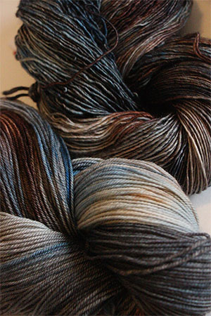 Zen Yarn Garden - Artwalk Series - Blue Nude!