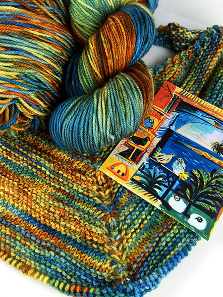 Zen Yarn Garden - Artwalk Series - Cote Dazure