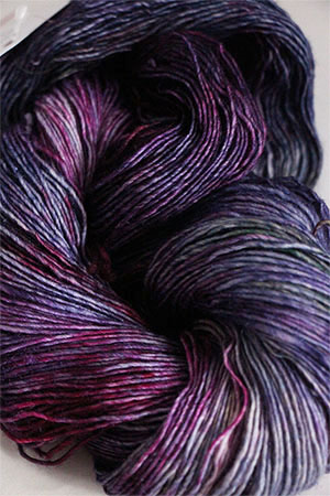 Serenity Silk Singles from Zen Yarn Garden in Petunias