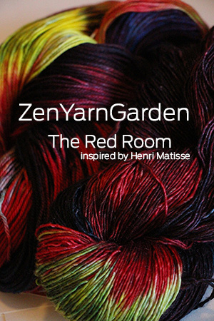 Zen Yarn Garden - Artwalk Series - The Red Room!